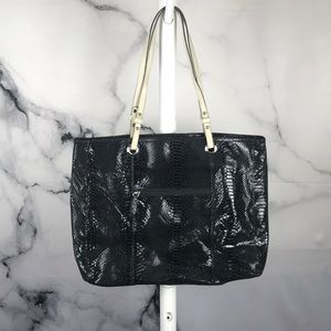 🦋3 for $20🦋 Wilson's Leather snake print tote